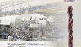 Bohrwerkzeuge - Montagebohrer aus 8%-kobaltlegiertem HSCO-Stahl
