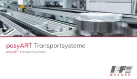 Werkstückträger-Transportsystem posyART