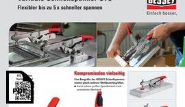 Variable Schnellspanner STC - Flexibler bis zu 5 x schneller spannen