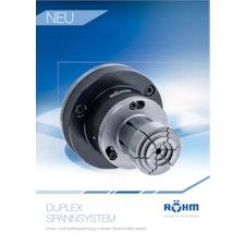 Flyer: DUPLEX Spannsystem