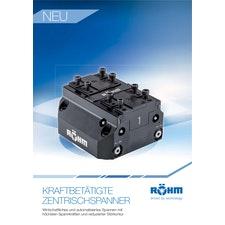 Flyer: Zentrischspanner KZS-P und KZS-H