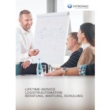 Lifetime-Service Logistikautomation - Beratung, Wartung, Schulung
