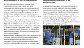 Innovative Automatisierung von Werkzeugmaschinen - Automation als Ausweg