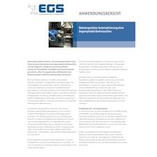 Robotergestütze Automatisierung einer Gegenspindel-Drehmaschine