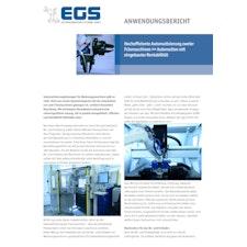 Hocheffiziente Automatisierung zweier Fräsmaschinen >> Automation mit eingebauter Rentabilität