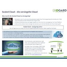 Sealed Cloud auf einer Seite