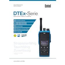 DTEx-Serie Entel - Eigensichere tragbare Funkgeräte