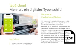Datenblatt tap2.cloud