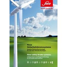 SUCO ZERO Bremsen für Kleinwindkraftanlagen