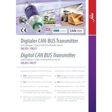 SUCO CAN BUS Drucktransmitter