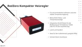 RedZero - kompakter Heizregler für Widerstandsheizmatten