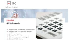 Datenblatt GT-Technologie