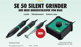 BIAX - SE 50 Silent Grinder - Elektroschleifer (DE)