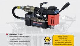 PRO 35 ADA ATEX | Druckluft-Kernbohrmaschine