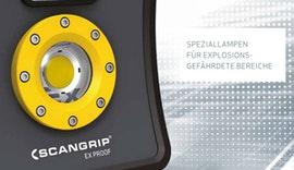 SCANGRIP | Innovative, explosionsgeschützte LED-Arbeitsleuchten