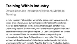 Training Within Industry –#twi