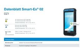 Smart-Ex® 02 DZ1: Ex-geschütztes Smartphone für ATEX Zone 1/21 | ecom