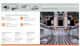 GANTRY high moving portal machining centres