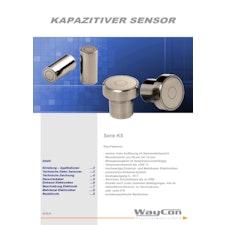 Datenblatt Kapazitive Sensoren