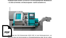 CNC-Drehautomat INDEX ABC