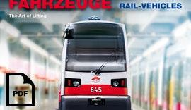 Hebebühnen für Schienenfahrzeuge