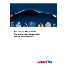 Innovative keramische Werkstoffe für innovative Automobile