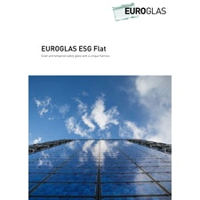 Tempered safety glass ESG Flat Brochure
