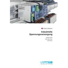 """Katalog """"Industrielle Spannungsversorgung"""""""
