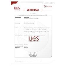ISO 17100-Zertifikat