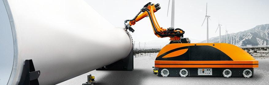 KUKA mobile robotik: Die unschlagbare Kombination aus bewährten KUKA Robotern, mobilen Plattformen und industrietauglichen Komponenten