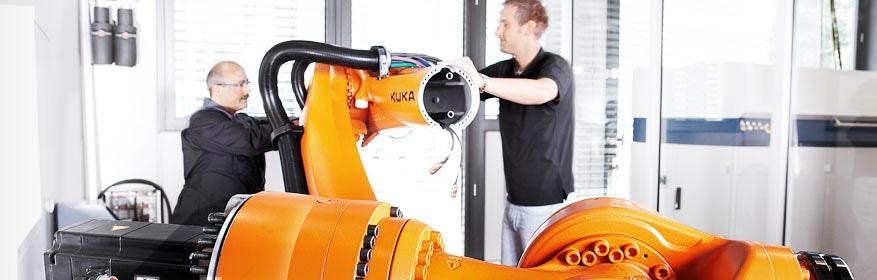 KUKA Global Customer Services: in höchster Qualität, weltweit, 365 Tage im Jahr