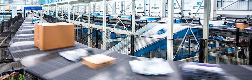 Logistikautomation - Auto-ID Systeme sorgen für schnelle und effiziente Datenerfassung.