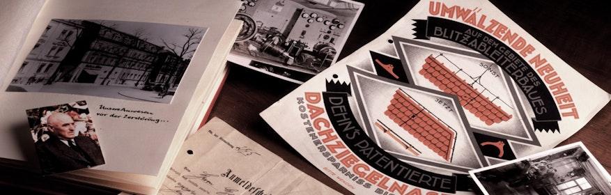 """Der Elektromeister Hans Dehn legt mit der Anmeldung eines """"Gewerbes zur Installation elektrischer Anlagen"""" am 21. Januar 1910 in Nürnberg den Grundstein des Unternehmens"""