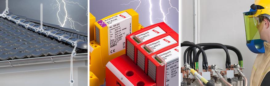 Ihr kompetenter Partner für Blitzschutz/Erdung, Überspannungsschutz und Arbeitsschutz