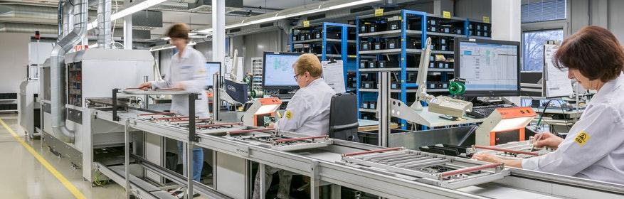 Lösungen für die automatisierte Fertigung