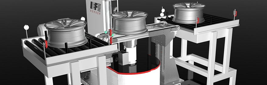 Radmessmaschine R2010 | IEF-Werner