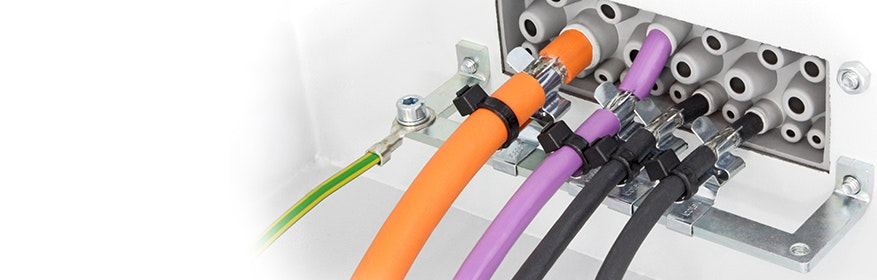 EMV Abschirmung von elektrischen Leitungen