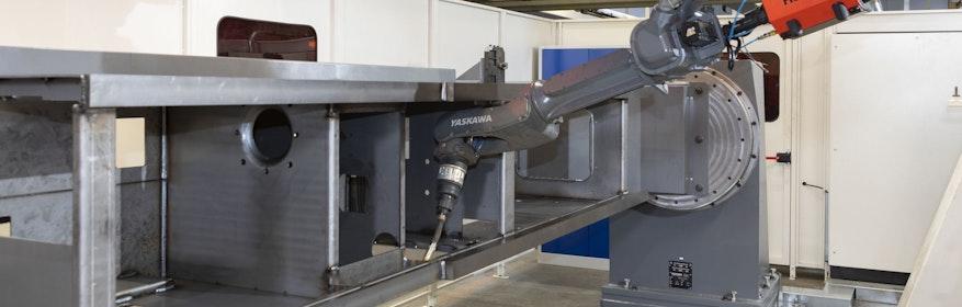 MAG-Roboter-Schweißsystem