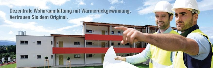 inVENTer - dezentrale Wohnraumlüftung mit Wärmerückgewinnung