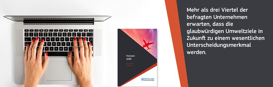 Protolabs Report Horizon Shift für die Luft-und Raumfahrtbranche