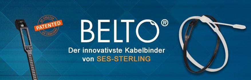 BELTO® - Der innovativste Kabelbinder von SES-STERLING