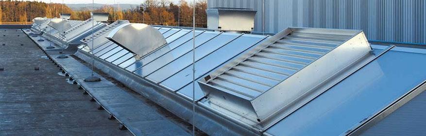 Systeme zur Lüftung, Heizung und Wärmerückgewinnung in Industriehallen