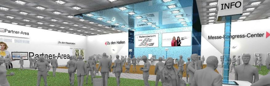Die Lobby im Palatina Messeland - dem KMU-Messeland