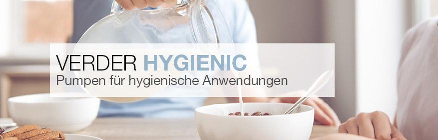 Verder Hygienepumpen