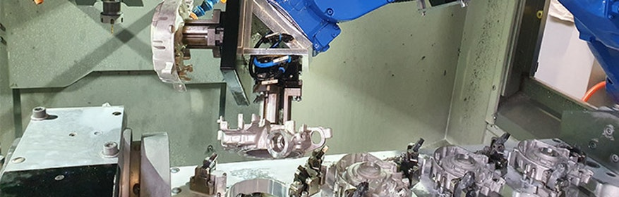 Robotive Automationslösungen für die Metallindustrie