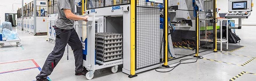 SUMO Standardautomation >> Palettiersysteme und Traystapler