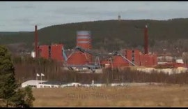 ACO Feuchtemessung im Pelletwerk Falun - Swiss Combi - Salmatec