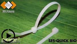Kabelbinder für temporäre Einsätze, biologisch abbaubar - SES-QUICK BIO