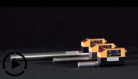 Thermischer Durchflussmesser mit IO-Link für Werkzeugmaschinen