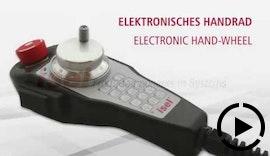 Electronic hand-wheel - Elektronisches Handrad | isel